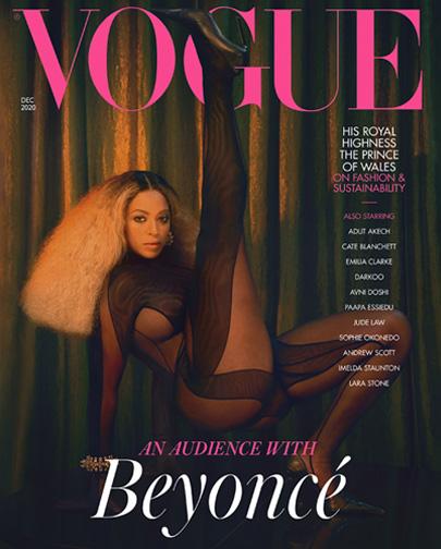 Beyoncé on Vogue cover