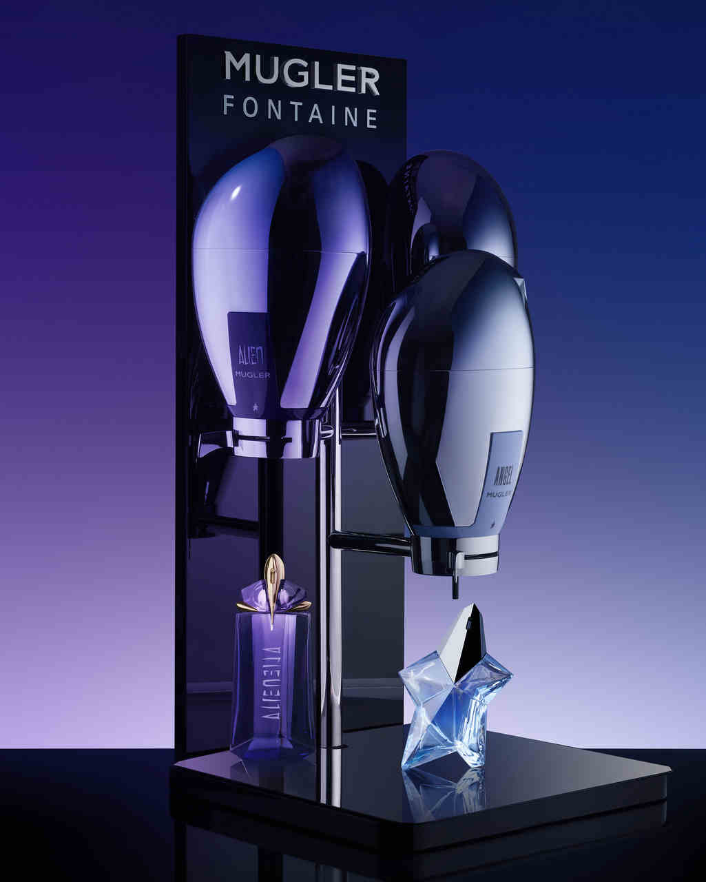 Mugler Fountain